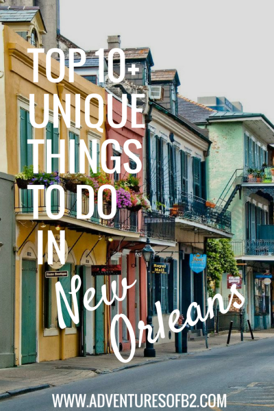 New Orleans is a unique city and has so much to offer. Here are some of top attractions off the beaten path that are fun for locals and tourists.