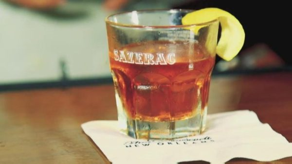 sazerac is one of the drinks you learn about on the new orleans cocktail tour.