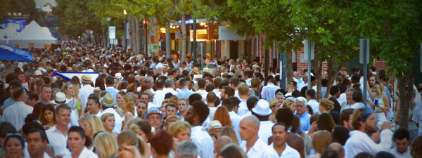 white linen night hosted by the contemporary arts center in new orleans.