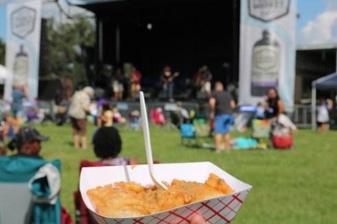 Beignet festival is located in city park in New Orleans, La. Come enjoy the music, food and artwork of local New Orleans businesses. See more information at adventuresofb2.com