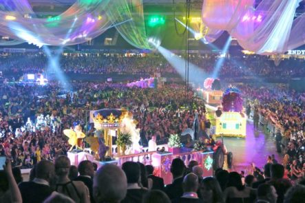 endymion extravaganza is an amazing carnival ball. Get tickets to see the parade and enjoy celebrity bands afterwards. To learn more, go to adventuresofb2.com