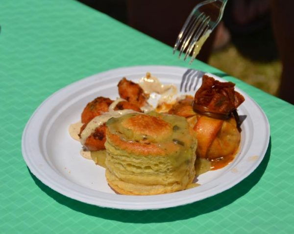 Try all different samples of unique food at the New Orleans Jazz Fest. Learn some tips and tricks to make your time successful at Adventuresofb2.com