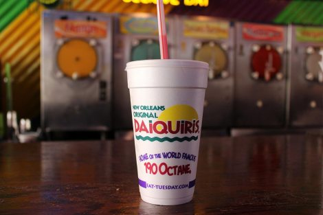frozen daiquiris are the best thing to cool down with during the summer. It's also a fun drink to have during mardi gras! Learn all the best tips for surviving mardi gras over at adventuresofb2.com
