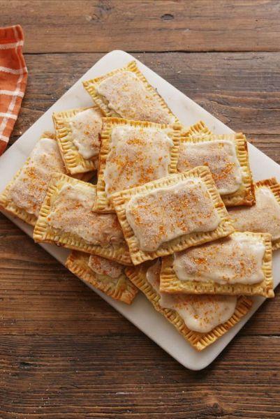 pumpkin pie poptarts from delish