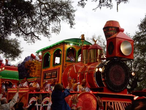 smokey mary is one of the signature floats of Orpheus. Learn all about mardi gras including our best survival tips with our free guide.