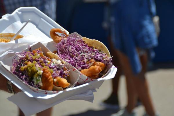 Try some delicious tacos at New Orleans jazzfest. Try all sorts of unique foods of different cultures while enjoying some live music here in New Orleans.