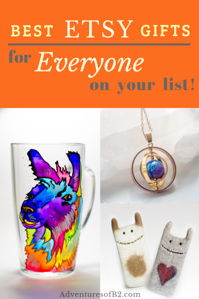 Get some of the best unique handmade gifts for everyone on your holiday list this year at etsy. Best etsy gift ideas for everyone on your list!