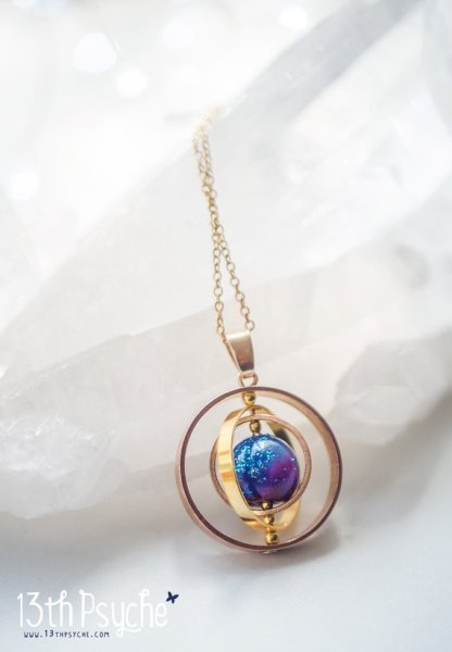 Get one of kind jewelry that is handmade on Etsy. Galaxy jewelry from 13th psyche is the perfect christmas gift for women who love jewelry. Unique, classy, elegant piece of jewelry to add a special touch to any outfit.