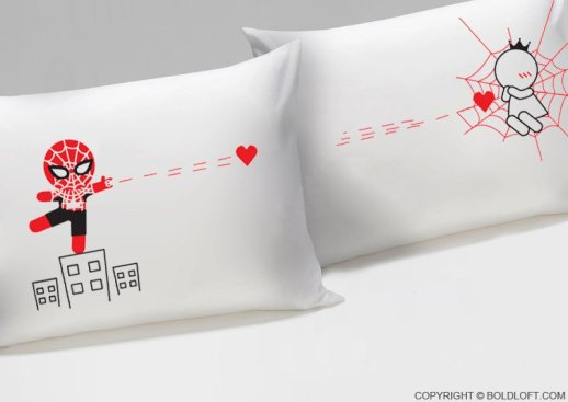 Boldloft on Etsy provides some of the best gifts for couple like this cute his/her funny pillow set. Find matching shirts, mugs and other great ideas here #christmas #giftideas #etsy #couples