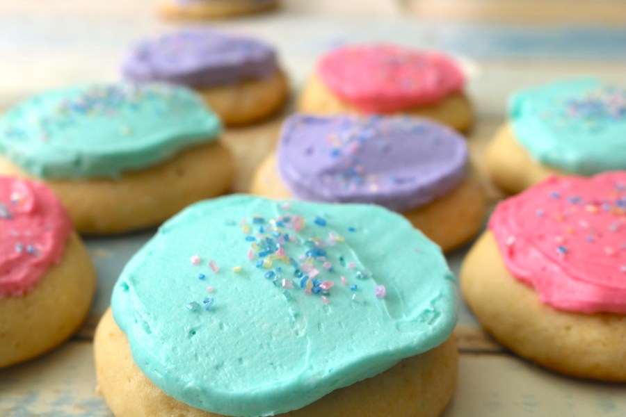 Soft sugar cookie recipe that is so delicious and moist. A soft fluffy cookie with sweet buttercream on top. A fantastic lighthouse copycat perfect for any celebration.