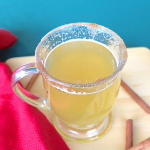 A delicious warm, soothing cocktail recipe. This fireball hot toddy is a cure for the winter blues and colds.