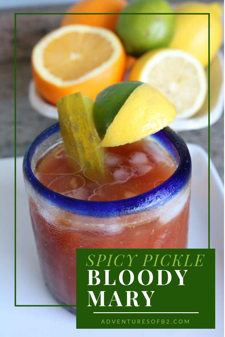 Spicy Pickle Bloody Mary