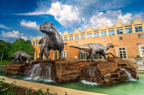 Come explore the dawn of dinosaurs and explore the outdoors at the Fernbank museum of natural history. See other amazing attractions and places to eat in Atlanta at Adventuresofb2.com . Photo via trip advisor