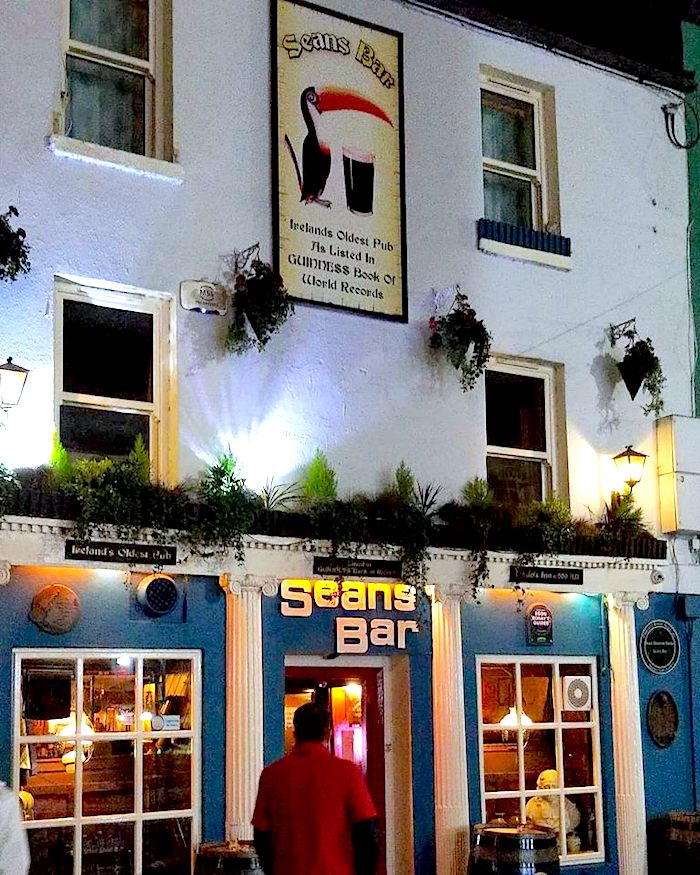 Sean's bar is the oldest pub in the world dating back to 900 A.D. Be sure to add this to your road trip itinerary. - Adventuresofb2.com