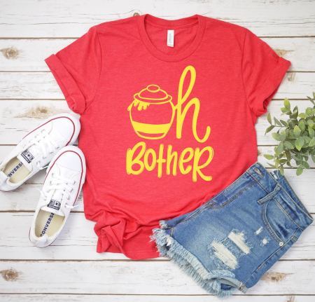 Adult winnie the pooh shirt from etsy is perfect for when you are planning a winnie the pooh party!