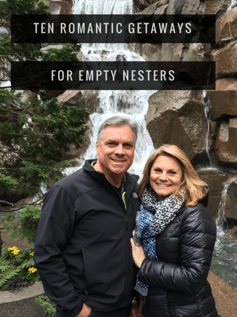 Ten Romantic Getaway Ideas For Empty Nesters