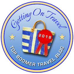 Getting on Travel: Top Baby Boomer Blog 2018