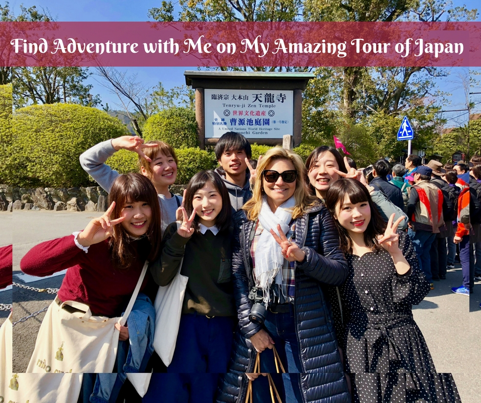 Find Adventure with Me on My Amazing Tour of Japan