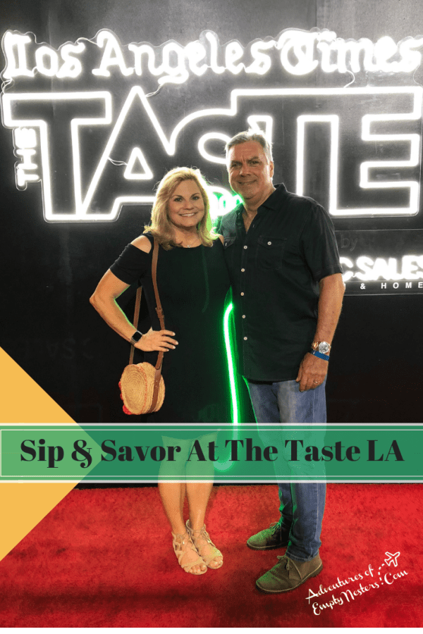 Fun at The Taste LA