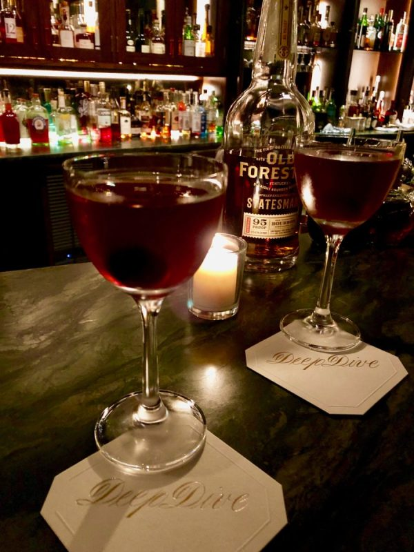 Deep Dive - a new cocktail bar in Seattle