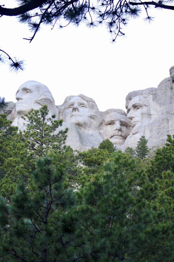 a visit to Mount Rushmore