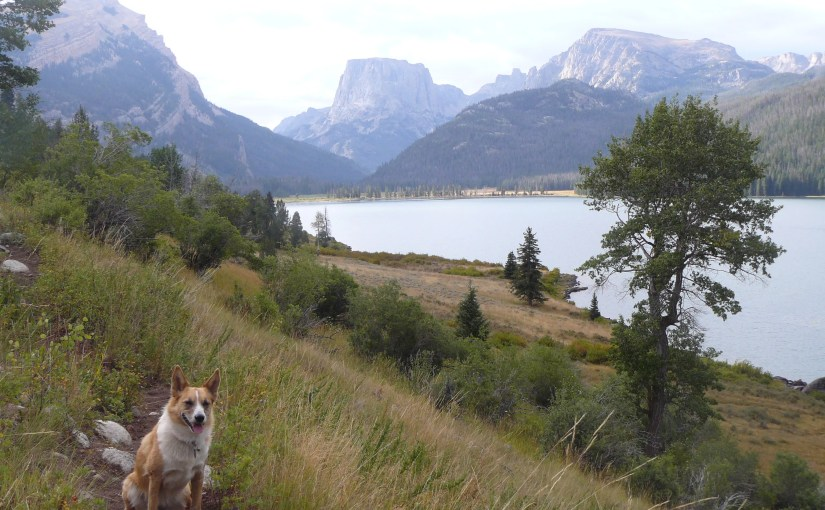 Green River Lakes, Squaretop Mountain & The Highline Trail to Beaver Park, Wind River Range, WY (8-30-15)