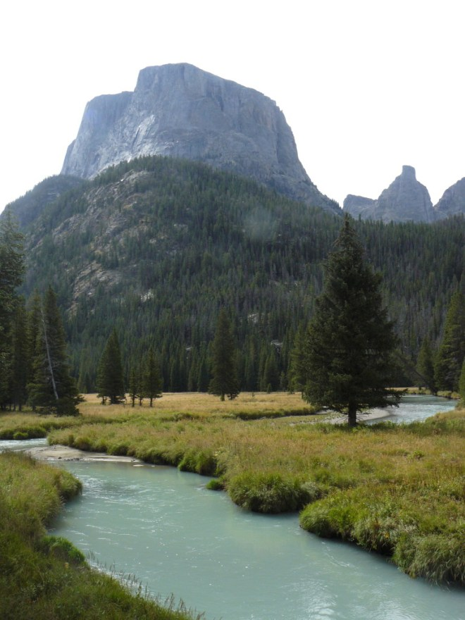 Squaretop Mountain and the Green River, WY 8-30-15