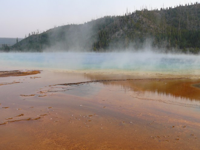 Grand Prismatic Spring, Midway Geyser Basin, WY 8-12-12