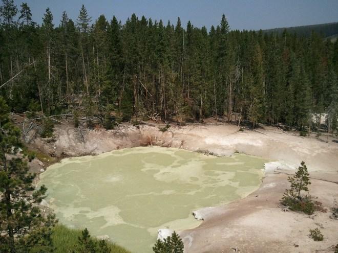 Sulphur Cauldron, Yellowstone NP, WY 8-12-12