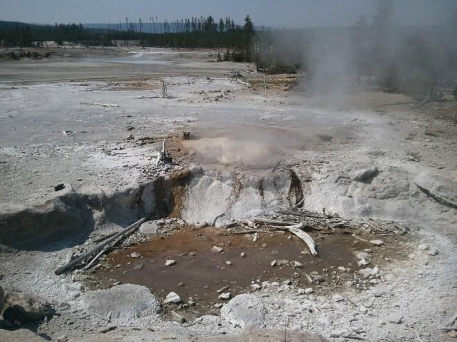 Norris Geyser Basin, Yellowstone NP, WY 8-13-12