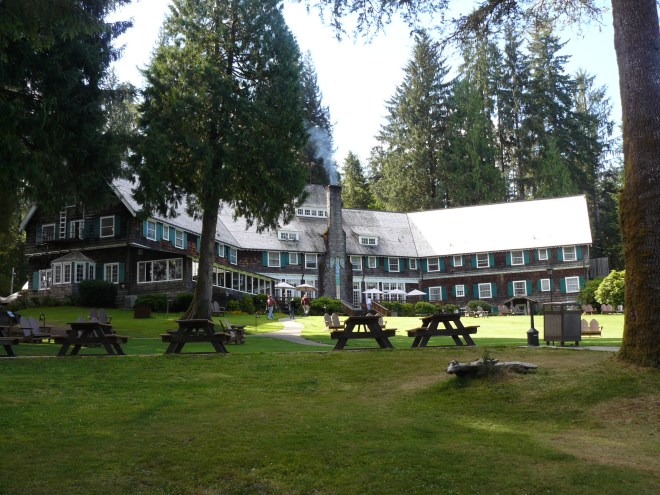Lake Quinault Lodge.