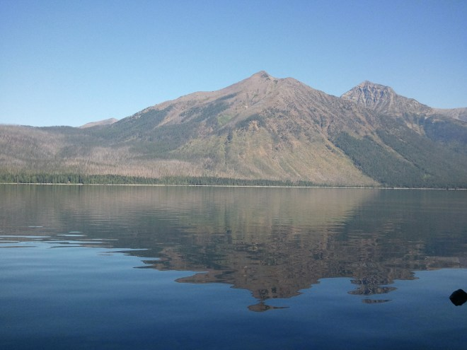 Lake McDonald, Glacier NP, 8-17-15