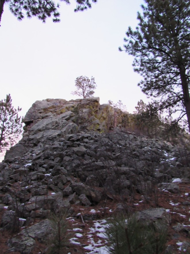 The N face of Pilot Knob.