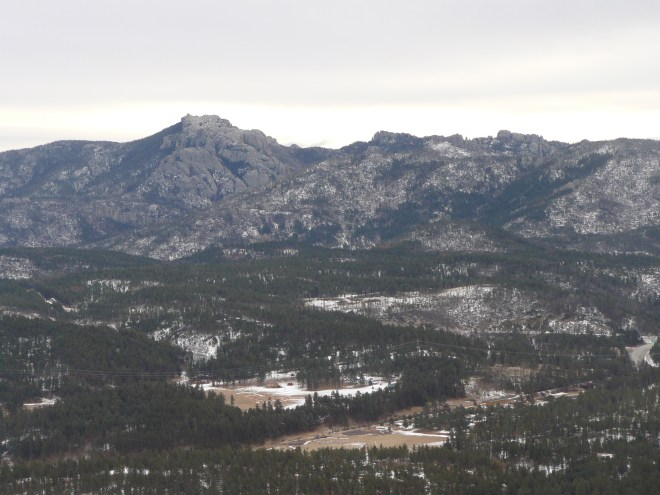 Another view of Harney Peak. At 7,242 feet, Harney is the tallest mountain in South Dakota.
