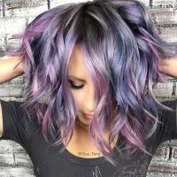 Photos Metallic Hair Color And Dye Jobs Inspiration Of