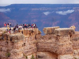 Grand Canyon Crowds
