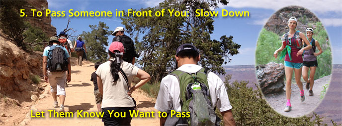 Trail Etiquette & LNT at Grand Canyon