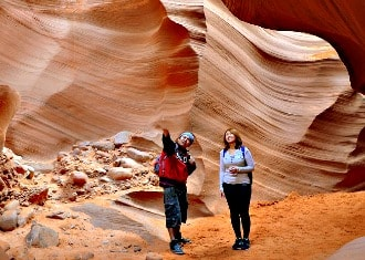 Antelope Canyon people