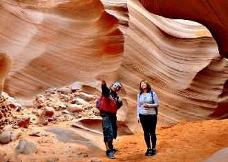 Antelope Canyon people