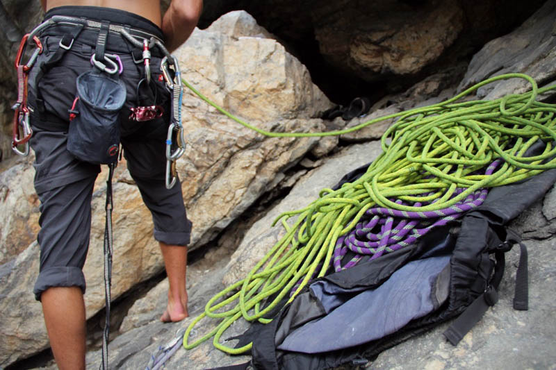 A beginner's guide to basic rock climbing terminology