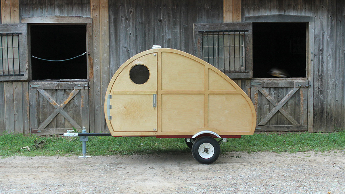 DIY camper kits are the affordable way to own a teardrop trailer