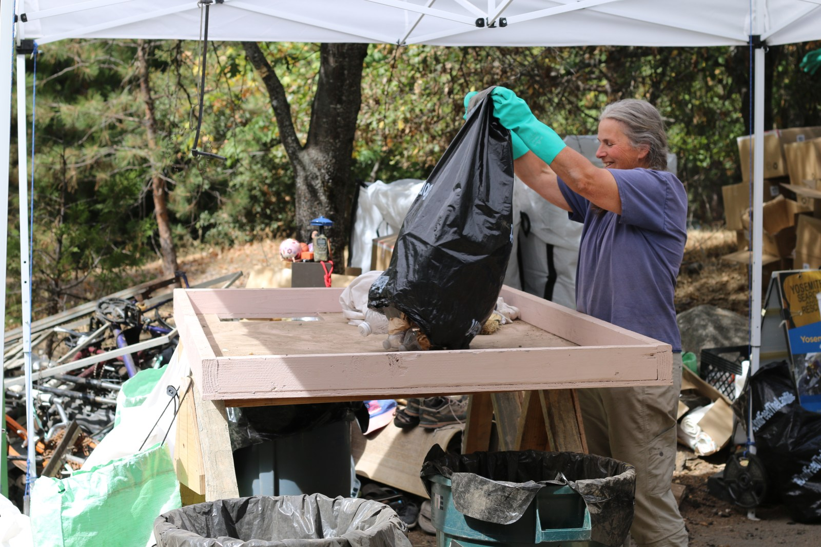 How 1 Man Organized the Removal of 1 Million Pounds of Trash From Yosemite