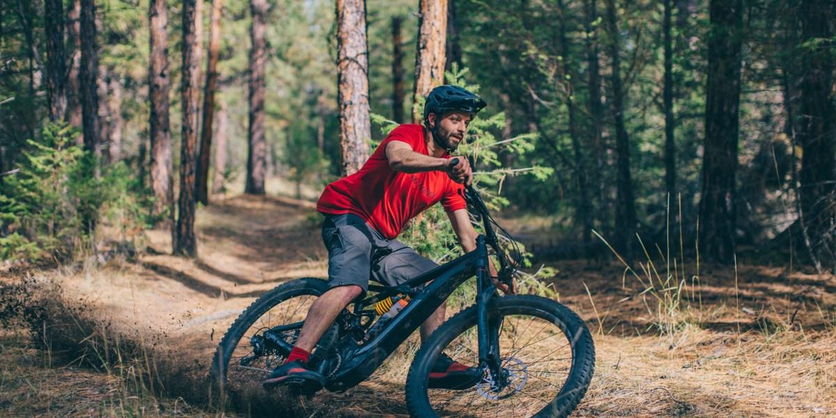 Half Bike, Half Rocket: Specialized's New E-Mountain Bike