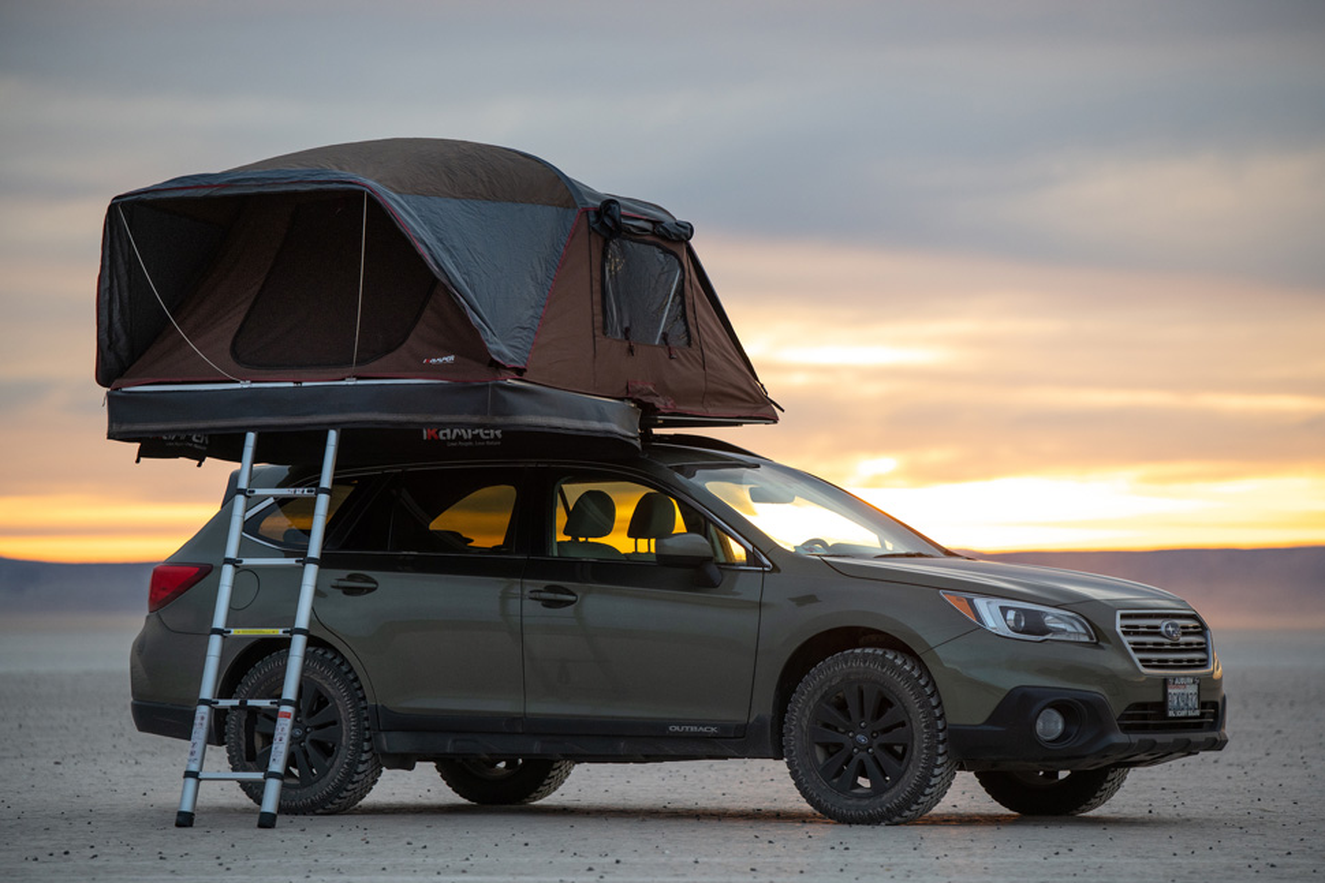 Gear News: iKamper Unveils Its Newest Hard-Shell/Soft-Shell 'Coverless' Rooftop Tent
