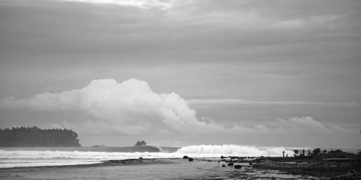 New Construction of a Footpath at Lagundri Bay Attracts Attention of Surfers Worldwide