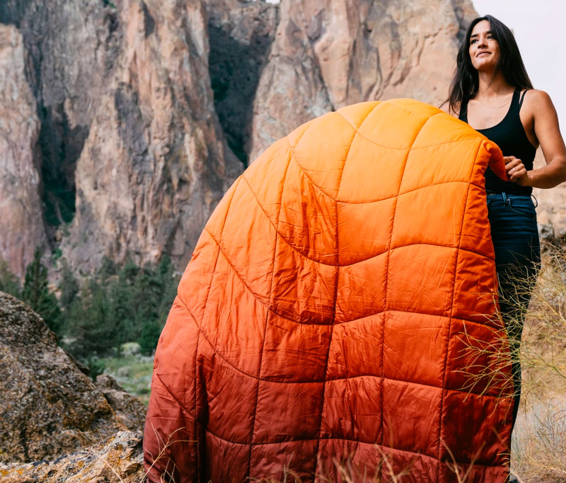 Gear News: Rumpl's New Blankets Are Made From 100% Post-Consumer Recycled Materials