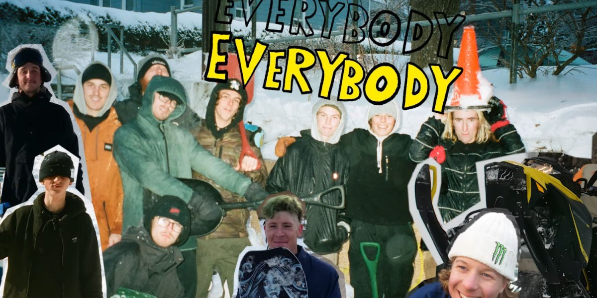 Check Out The SNOWBOARDER Movie: 'Everybody, Everybody' Now Available on iTunes