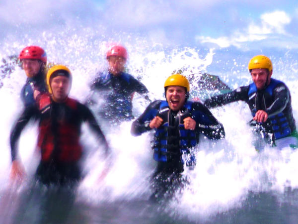 Coasteering In Swansea