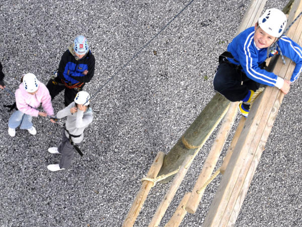 High Ropes Course South Wales