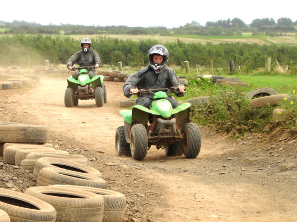 Exciting Quad Biking at Adventures Wales